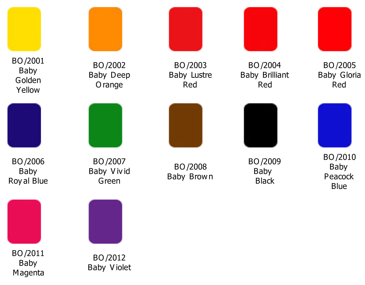 SPOT COLOURS INKS (sheet fed offset inks) - 30 October ...